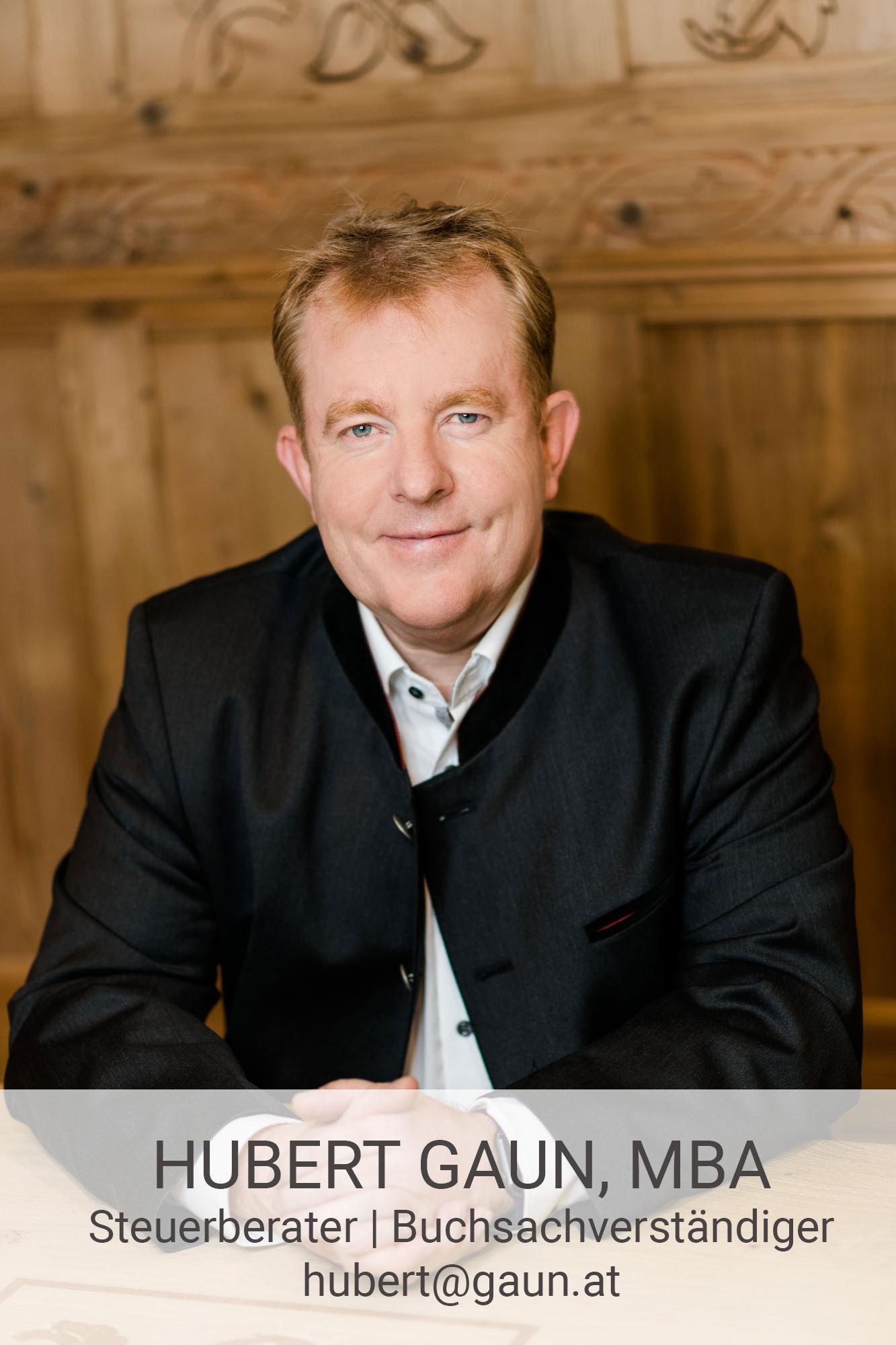 Hubert Gaun, MBA